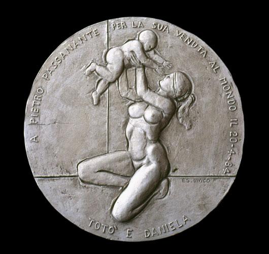 Medaglia per la nascita di Pietro Passanante