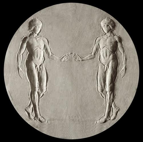 Medaglia per la cresima di Giuseppe Di Liberti
