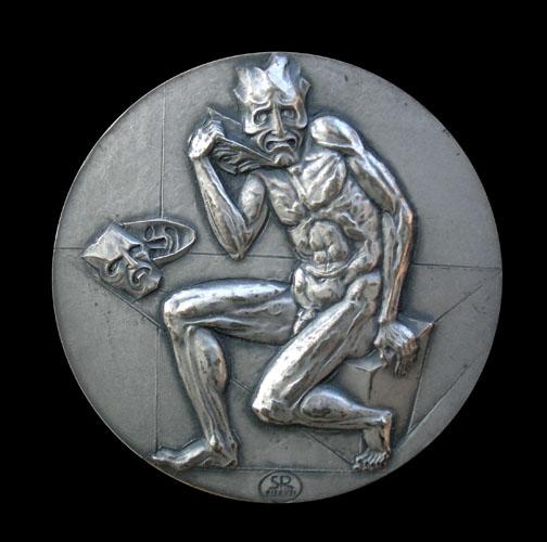 Medaglia per il cinquantesimo anniversario della morte di Luigi Pirandello