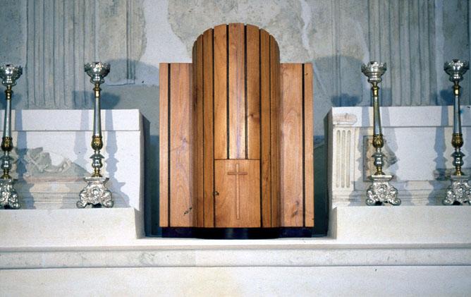 Tabernacolo ligneo della Cappella del Crocifisso
