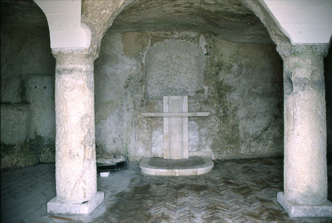 Altare della Chiesa della Pietà di Caltabellotta