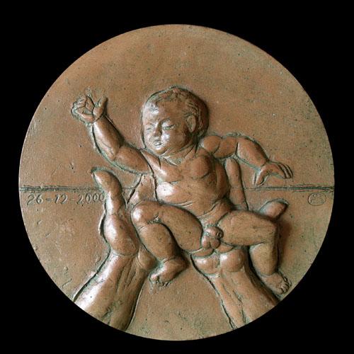 Medaglia per la nascita di Ruben Cantoni