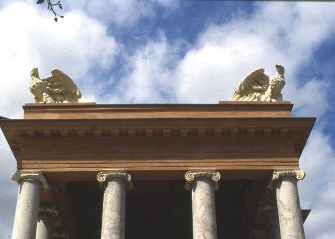 Aquile del Palchetto della musica al Foro Italico di Palermo