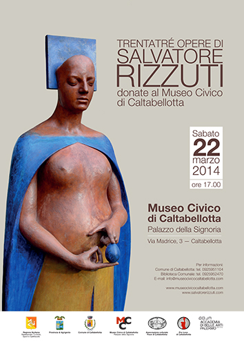 Trentatré opere di Salvatore Rizzuti donate al Museo Civico di Caltabellotta