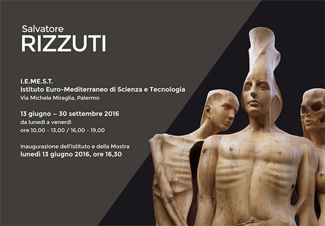 Mostra di Salvatore Rizzuti all'Istituto Euro-Mediterraneo di Scienza e Tecnologia di Palermo